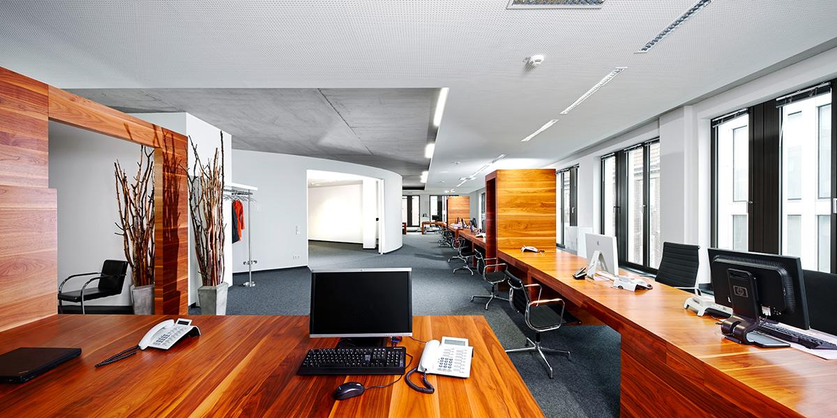 Vahle + Partner Architekten im gewerblichen Bereich
