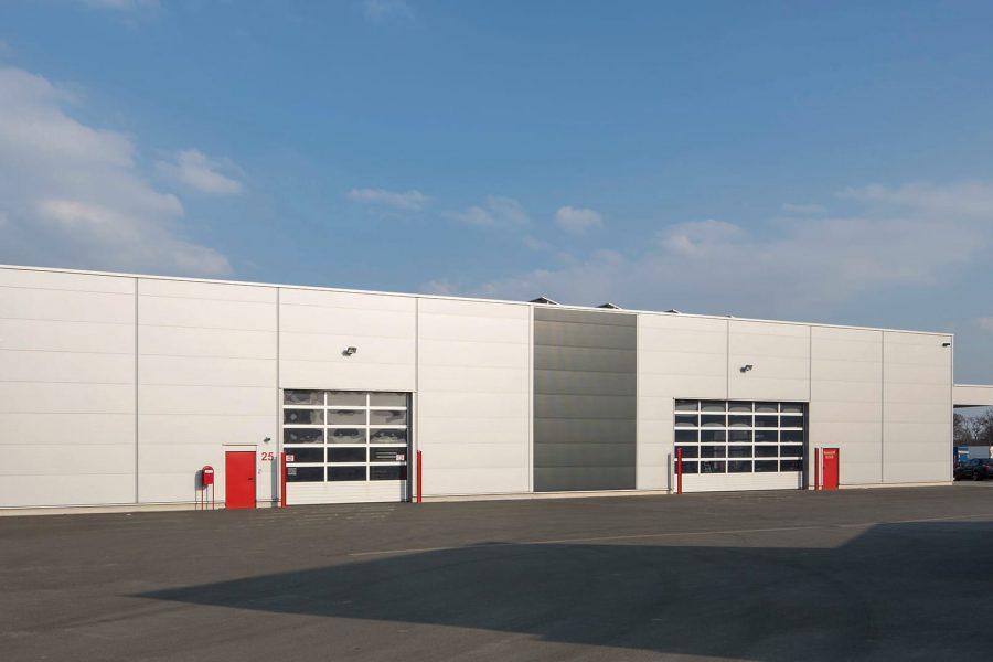 RB-I+II, Neubau Lager- und Produktionshalle