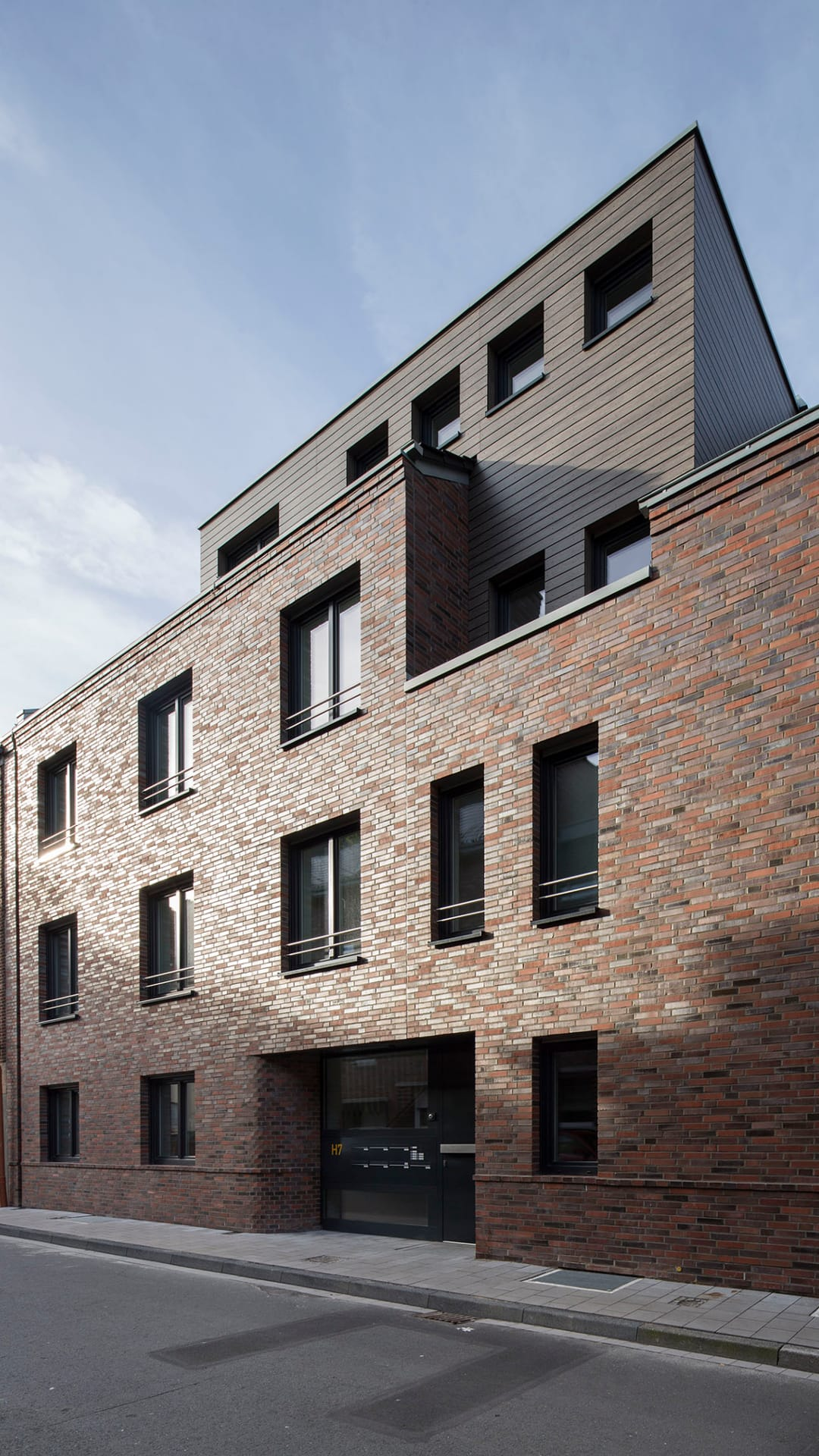 H7, Neubau Mehrfamilienhaus, barrierefrei