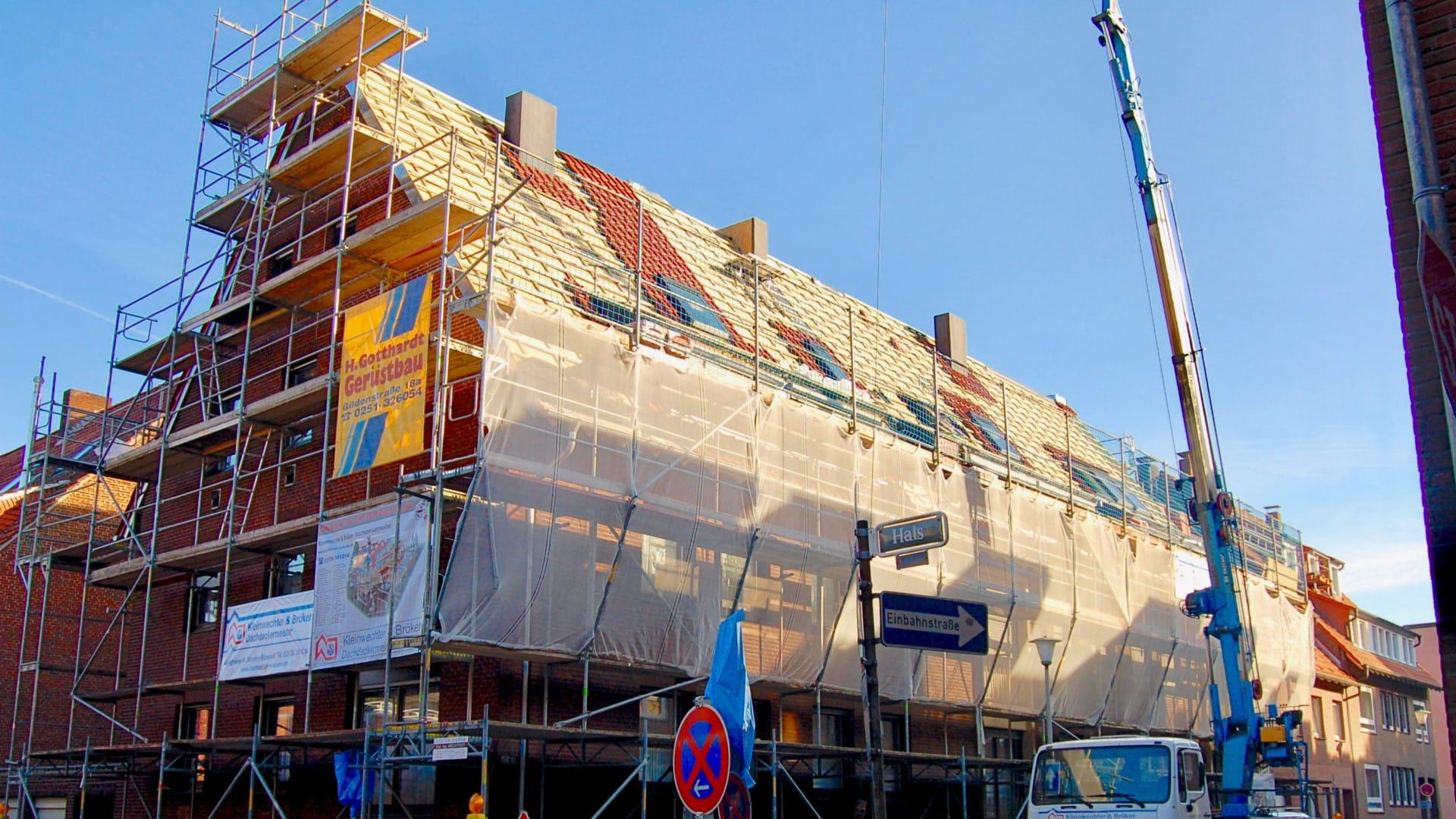 S62, Dachsanierung- und Ausbau