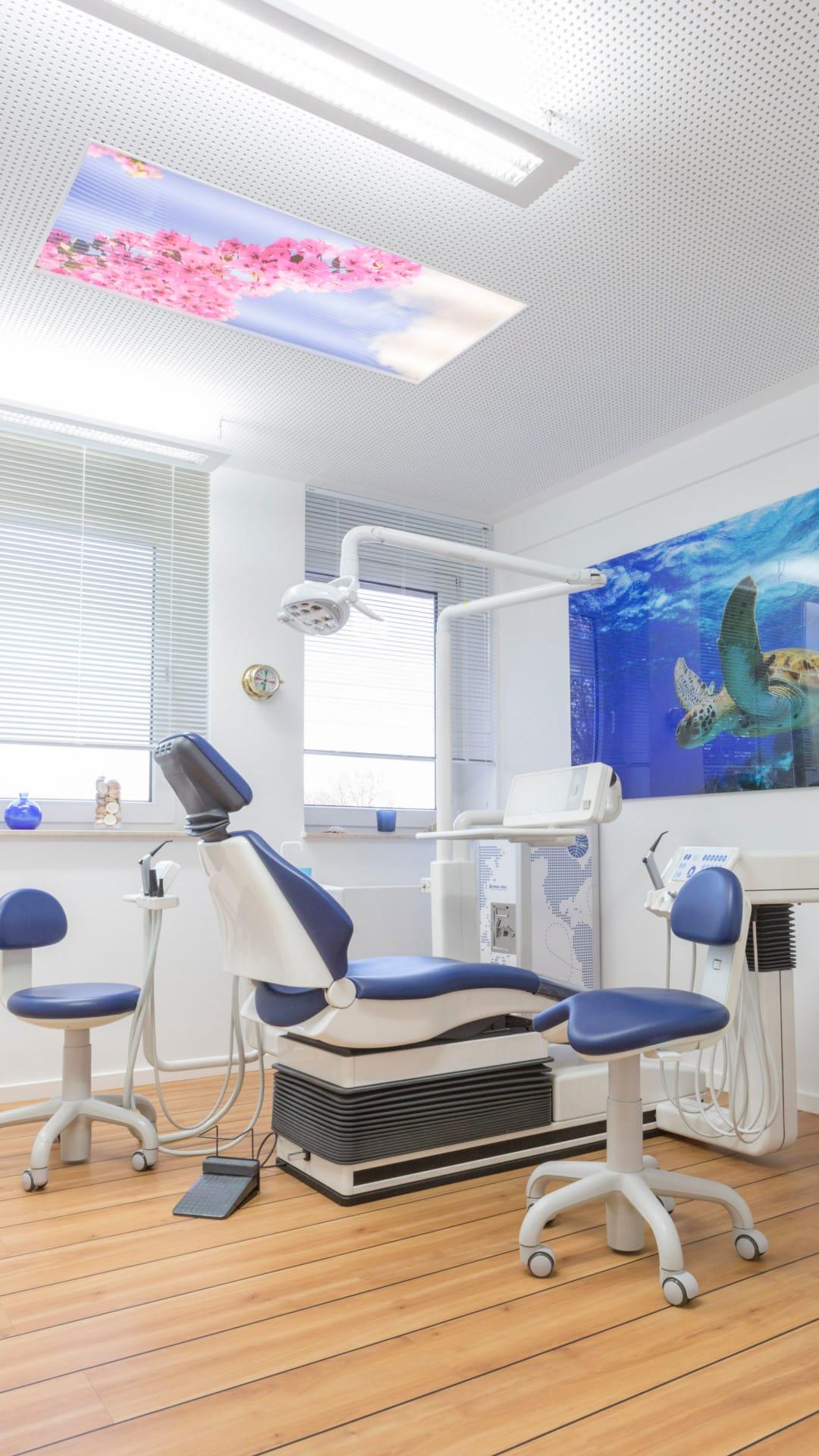 M62, Zahnarztpraxis – Propyhlaxe Bereich