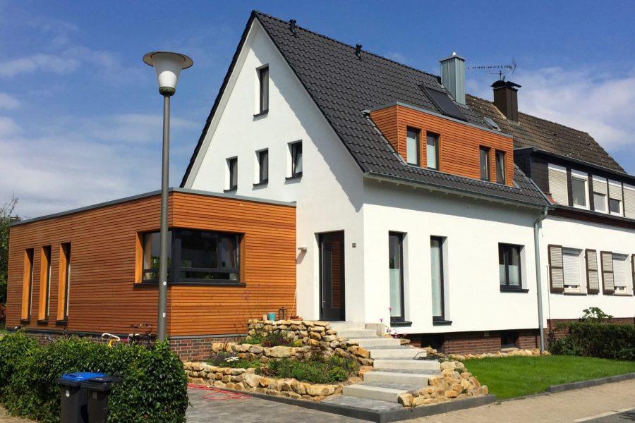 G10, Entkernung und Erweiterung Doppelhaushälfte