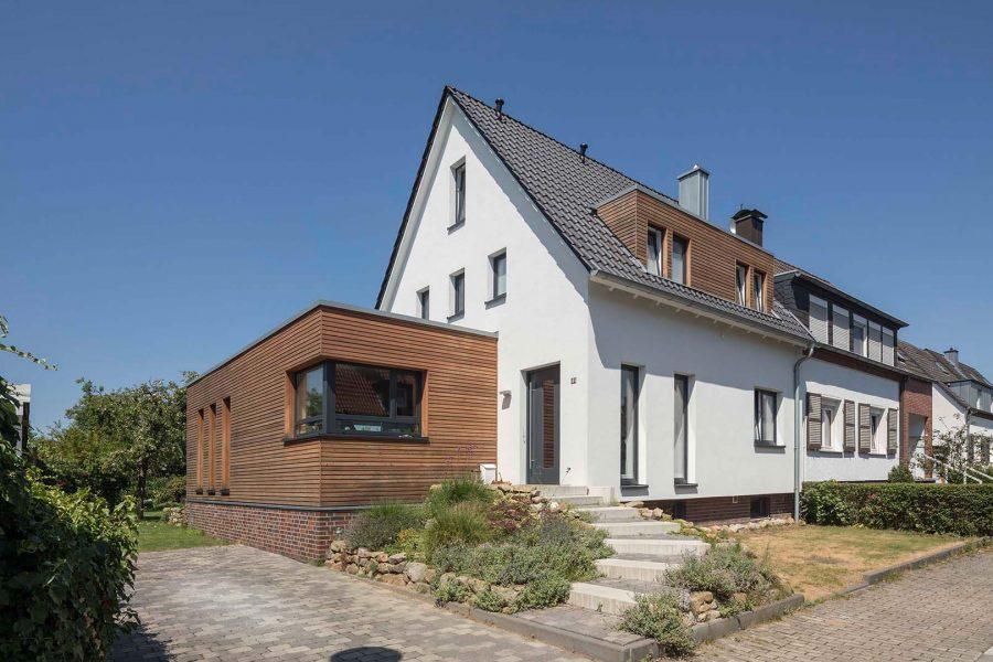 G11, Entkernung und Erweiterung Doppelhaushälfte