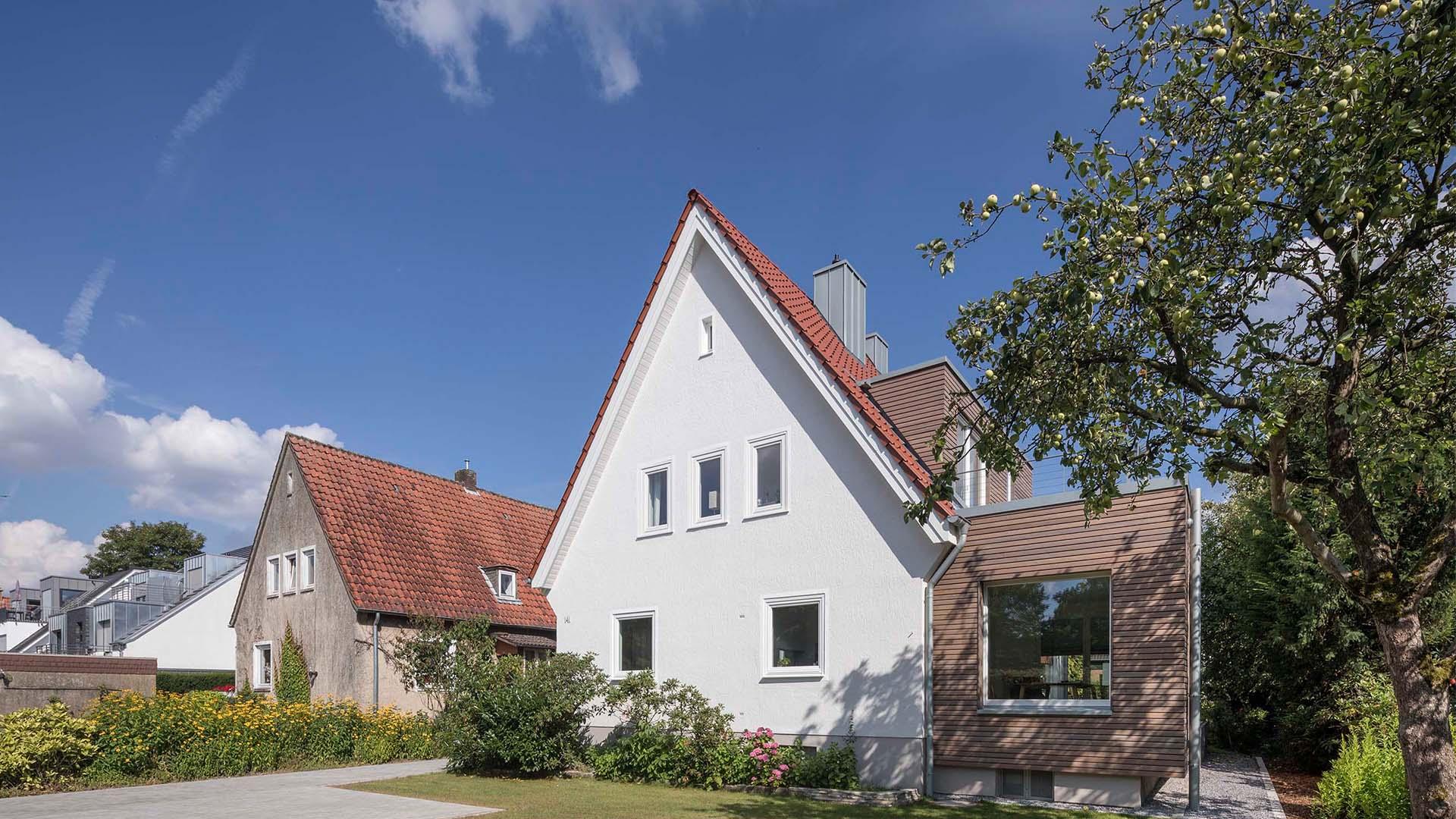 M141, Sanierung und Erweiterung eines Siedlungshauses