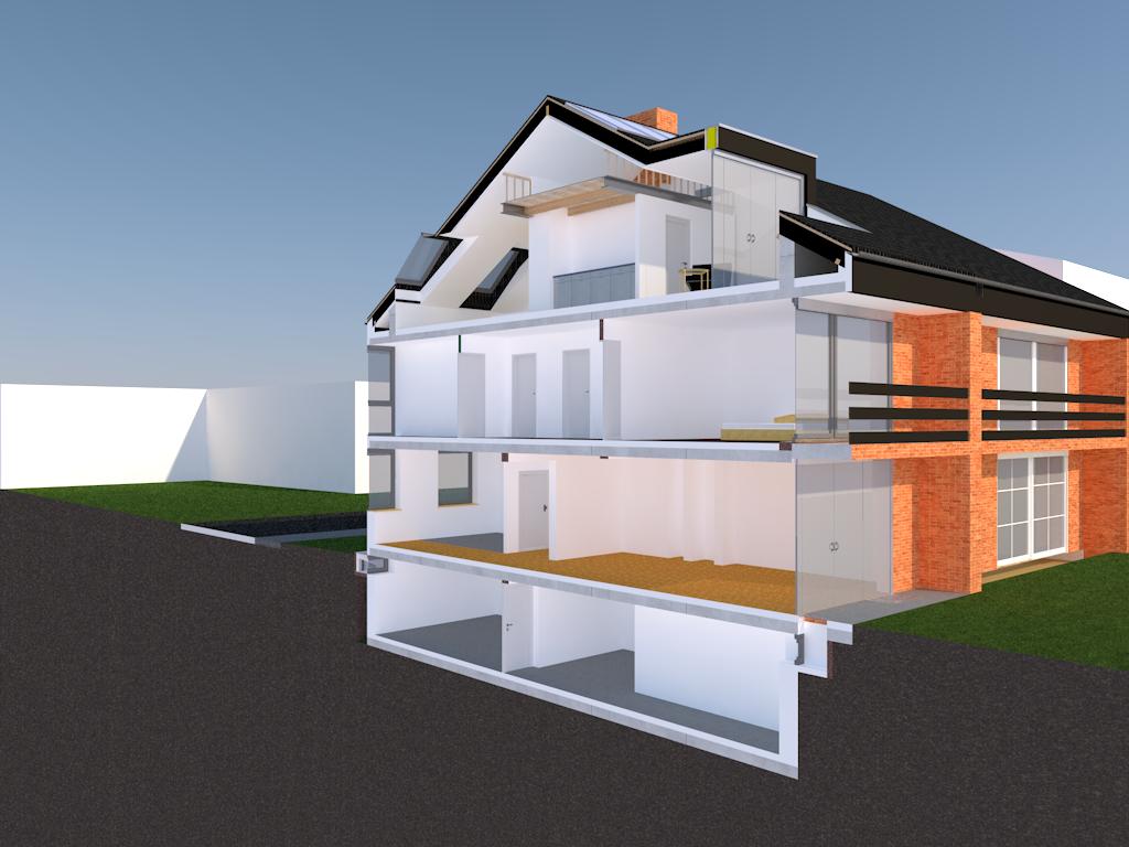F73 – Kernsanierung einer Doppelhaushälfte